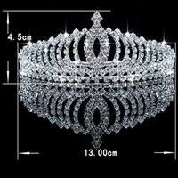 Wholesale Clips For Plating - Only $3.99 Cheap Fashion Bridal Tiaras Crowns Headband Beaded Hair Claw Clips Accessories For Wedding Bride Bridesmaid 2016 Free Shipping