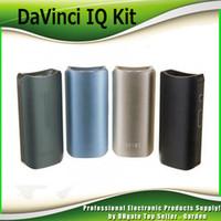 Wholesale E Cigarette Stater Kits - DaVinci IQ Portable Clone Vaporizer Dry Herb E-cigarette Kits Stater Kit Da Vinci IQ Without APP function and Battery 0209650