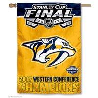 Wholesale House Western - Nashville Predators NHL Western Conference Champions House Flag