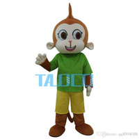 Wholesale Dragon Mascot Purple - Big Purple Dragon Mascot Costume Fancy Dress Outfit Dress Shipping Adult SizeHot Sale High Quality Green Monkey Mascot Costume Free Shipping