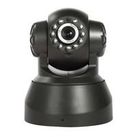 ir led gece görüş kamerası toptan satış-Kablosuz IP Kamera WIFI Webcam Gece Görüş (UP 10 M) 10 LED IR Çift Ses Pan / Tilt Desteği IE S61