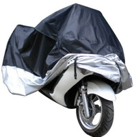 Wholesale Waterproof Motorcycle Cover L - Motorcycle Bike Moped Scooter Cover Dustproof Waterproof Rain UV resistant Dust Prevention Covering Size L 220*95*110 cm