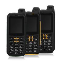 двойные sim-телефоны ударопрочные водонепроницаемые оптовых-Оригинал iMAN S2 Водонепроницаемый пылезащитный противоударный мобильный телефон IP68 Dual SIM-карта Quad Band 2MP Фонарик Power Bank Мобильный телефон сотовый телефон