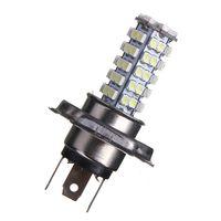 Wholesale H4 68 Led - Hot Sale H4 68 LED 3528 1210 SMD Pure White Car Auto Light Source Headlight Fog Driving Lamp Bulb DC12V order<$18no track