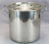 Wholesale Restaurant Quality Stainless Steel Stock Pot Set Set Large Capccity Stock Pot Tirclad Bottom Oven and Indution Suitable