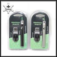 Wholesale Smok Vv - LO Battery Charger kit 350mAh LO preheat VV CE3 Glass Tank vs Smok with pods 0266137