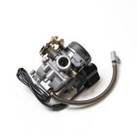 carburateur gy6 achat en gros de-PD18J carburateur 50CC scooter carburateur cyclomoteur Carb pour 4-temps GY6 SUNL ROKETA JCL Vento pour GY6 50CC-110CC Scooter