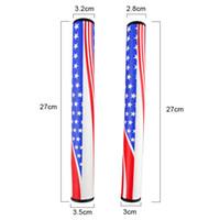 Wholesale wholesale golf putters - New style U.S Tour Golf Clubs Putter PU Putter US Flag Design Golf Putter Grips 2.0 3.0 Golf Grips 2502060