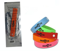 Wholesale Wholesalers For Baby Mosquito - 10000 PCS GREENLUCK Mosquito Bracelet Repellent, Green Luck Anti Mosquito Wristband Killer For Baby Outdoor Summer Free Shipping
