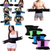 Wholesale Wholesale Waist Trainer Weight Loss - 11 Colors Women's Waist Cincher Waist Trimmer Corset Ventilate Adjustable Tummy Trimmer Trainer Belt Weight Loss Slimming Belt CCA7004 20pcs