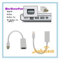 Wholesale Ipad Mini Converter Cable - Thunderbolt Mini Display Port DisplayPort DP Male to HDMI Female mini dp to hdmi converter adapter Cable For Apple Macbook PC