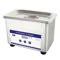 ultraschall-badreiniger großhandel-Hot Digital Ultraschallreiniger Reinigungsmaschine Körbe Schmuck Uhren Dental PCB 0.8L 35 Watt 42 kHz Ultraschallreiniger Ultraschallbad