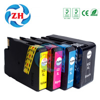 Wholesale Compatible Ink Cartridges - 4 X Ink Cartridges HP 932XL 933XL 1*Black 1*Cyan 1*Yellow 1*Magenta Compatible for HP OfficeJet 7110 7610 7612 7512 printer