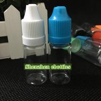 Wholesale plastic bottles resale online - PET Plastic Bottle Plastic bottles ML pet bottles dropper Bottle With Childproof Cap for E liquid