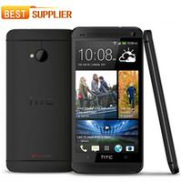 pantalla m7 al por mayor-2016 Original desbloqueado HTC One M7 801e 2gb Ram 32gb Rom Android Smartphone Quad Core 4.7