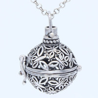 Wholesale Chains For Floating Lockets - 10pcs lot Antique Silver Copper Charms Butterfly Floating Locket Pendant Chain Necklace For Essential Oil Aromatherapy Diffuser Jewelry