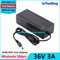 Wholesale Switching Power Supplies 36v - 100pcs AC 100-240V To DC 36V 3A Power adapter Charger, DC36V3A Switching Power Supply with IC Chip Free shipping