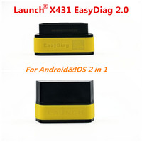Wholesale Easy Scanner - Launch X431 Easy Diag Original Diagnostic Tool Easydiag 2.0 for Android iOS Scanner Update Via Launch Website