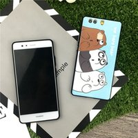 Wholesale Huawei Phone Cartoon Case - For Huawei P10 cell phone cases with P9 plus Mate9 pro Cartoon cute ultra-thin TPU mobile phone protection factory wholesale price free ship