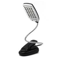 Wholesale Battery Reading Lights - Bright Flexible Adujustable Mini 28xLED Bulb USB LED Light Desk Table Reading Lamp Switch Black White