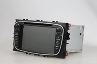 Wholesale Dvd Gps Ford Mondeo - Shock coming Android 5.1.1 Quad Core 1024*600 HD car dvd player for FORD FOCUS mondeo S-MAX Transit 2007-2010 bluetooth gps navi wIFI