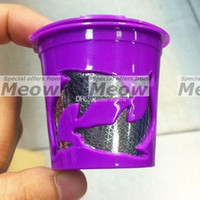 24k golden plated reusable dolphin kcup k cups high class chrome plating etched mesh reusable kcup filter bpa free in bulk - K Cups Bulk