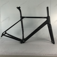 Wholesale Carbon Road Bicycle 48cm - UD Weave HQR20 Carbon Fiber Road Bike Frame Racing Bicycle Frame+Fork+Seat Post+Headset+Compatible BB68 or BB30 Size XS,S,M,L