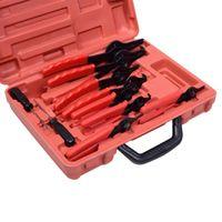 Wholesale Snap Mechanic - 11pc SNAP RING PLIERS Set Mechanics Circlips Auto Tool Internal External Pliers