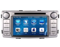 Wholesale Hilux Audio - In Dash Car DVD Player for Toyota Hilux 2012 2013 2014 with GPS Navigation Radio Bluetooth USB SD AUX Stereo Audio Video