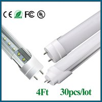 UK led g13 tube 18w smd - led tube light t8 1200mm 18w 2400lm AC 85-265V 110V G13 LED fluorescent tube lighting free shipping FEDEX UPS 30PCS