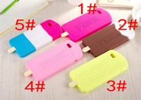 Wholesale Iphone 5g Case Design - Newest 2016 soft silicon PINK design Ice Creamvictoria phone case for iphone 6 6s 5 5g 5s SamSung secret capa celular