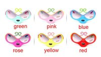 Wholesale fashion sunglasses dhl resale online - NEW Fashion Children Sunglasses frame sunglasses mask Hot style expressions using monkey glasses plastic mixs color DHL free