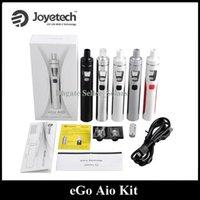 Wholesale Ego Starter Led - Authentic Joyetech EGO Aio Kit 1500mAh Quick Start Vaporizer Kit All in One Starter Kit 0.6ohm with Colorful LED
