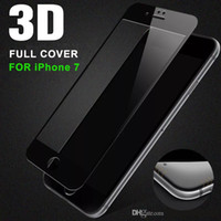 Wholesale iphone colors front online - For iPhone Plus mm D Full Screen Curved Tempered Glass Screen Protector Colors For iPhone S Plus