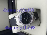 Wholesale Diamond Offshore - 2016 Top Quality Limited Edition Sapphire Offshore Full Diamond Sapphire Swiss Quartz Chronograph woman Watch woman's Watches