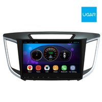 Wholesale Hyundai Ix35 Dvd Player Gps - 10.2 inch Hyundai ix25 Creta Cantus 2015 Android Headunit Car DVD and GPS Navigation Car Radio Wifi