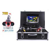 Deep Water Underwater Fishing Camera 7 polegadas LCD Monitor Video Color Fish Finder sem 12V bateria