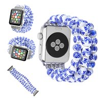 Wholesale Watch Bands China - New model Luxury Newest china link for apple watch band 38mm 42mm series 1 2 3 ceramic design for iwatch strap girl strap