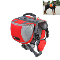 Wholesale vest carriers online - Dog Harness K9 for Large Dogs Harness Pet Vest Outdoor Puppy Small Dog Leads Accessories Carrier Backpack Dog Leashes Pet Supplier