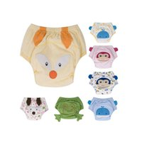 Wholesale Diaper Learning - Cartoon Baby Potty Training Pants Waterproof Learning Pants Reusable Briefs Panties for Toilet Training Child Nappy Pants Diaper