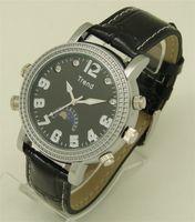 Wholesale Spy Waterproof Mp3 Watch - HD 720P MP3 Ultra-thin Spy Watch IR Hidden Clock DVR Waterproof