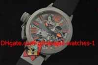Wholesale Russian Automatic Mechanical Watches - Wholesale - New Luxury Automatic Russian Fighter Mechanical Dive Mens Watch Grey Stainless Men's Watches