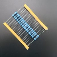 Wholesale 2w resistor kit - Wholesale- 20pcs 2W Metal Film Resistor 220k ohm 220KR + - 1% RoHS Lead Free In Stock DIY KIT PARTS resistor pack resistance