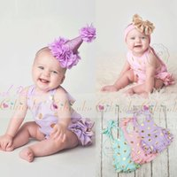 Wholesale Size Suits Suspenders - 2017 Baby rompers infant girl Newborn baby clothes dot cotton suspenders sleeveless rompers suits Coverall 3 colour