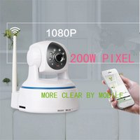 Wholesale Ipc Systems - 200w px Wifi IP Camera Hi-3518E LINUX System Wireless IPC with 10 Infrared Lamp 10m IR for Android IOC PC RH-42-HS