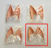 Wholesale cosplay cos online - Hot Festive Mysterious Elf Ears fairy Cosplay Accessories Latex Soft Prosthetic False Ear Halloween Party Masks Cos Mask