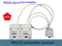 Wholesale Max Extender - Free shipping Male to Female MF RS232 serial port Extender Max transission for 300m