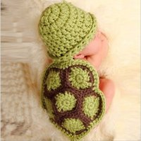 Wholesale Army Service Cap - Newborn Baby photography service hand-knit wool cap wild props one hundred days photographing baby crochet wild