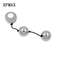 Wholesale Vagina Balls Vibrator - Xfmax Metal Kegel Ball Vagina Exercise Vaginal Trainer Love Ben Wa Pussy Muscle Training Adult Toys For Couples Sex Products