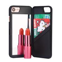 Wholesale Hard Case Iphone Elegant - Korean Fashion Girl Phone Back Cover Bag Style Luxury Elegant Hard Plastic Case For iPhone 7 plus 6 6S 4.7 5.5 inch SE 5 5S Samsung S7 edge